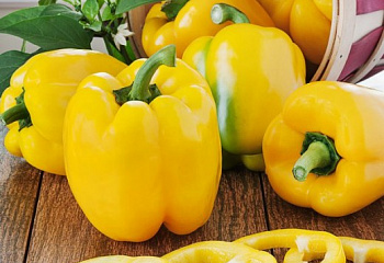 Перец сладкий  Sweet pepper Yellow Stuffing Pepper